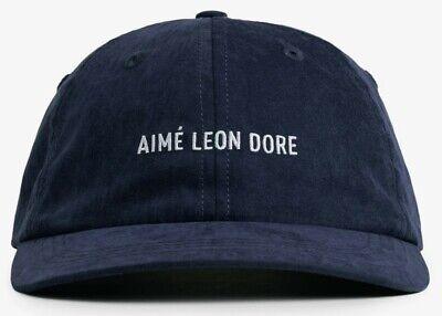 Aimé Leon Dore/ALD Brushed Nylon Hat NAVY NEW