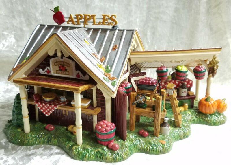 Dept 56 Snow Village - Harvest Apple Orchard #56.55388 - EUC