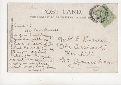 Miss E Butcher The Orchards Hernhill Faversham 1907  281b