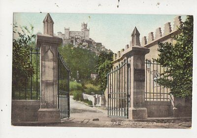 Cintra Entrada Do Parque De Pena Portugal Vintage Postcard 912a