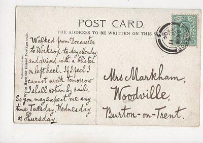 Mrs Markham Woodville Burton On Trent 1904 367b