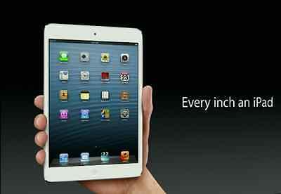 Geniune Apple iPad Mini 1st Generation 16GB WiFi White *VGWC!* + Warranty!