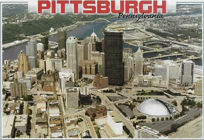 AERIAL VIEW,MELLON ARENA (THE IGLOO),PNC PARK,HEINZ FIELD~PITTSBURGH,PA 2003