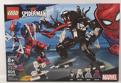 """LEGO """"Spider Mech Vs. Venom"""" Set. Item No. 76115. NEW with 604 Pieces"""