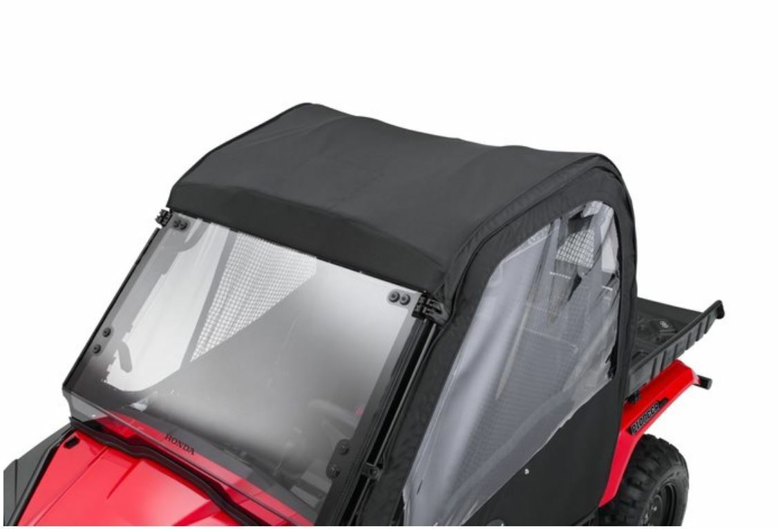 Open Trail Poly Molded HDPE Hard Top Roof Black Honda Pioneer 500 2015-2019