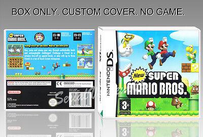 NEW SUPER MARIO BROS. ENGLISH. DS. COVER CUSTOM + ORIGINAL BOX. (NO GAME) ()
