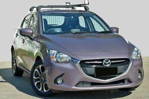 2014 Mazda 2 DJ2HAA Genki SKYACTIV-Drive Smoky Rose 6 Speed Sports Automatic Hatchback