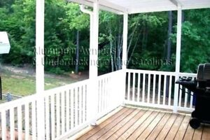 Looking for one can do deck and Awnings