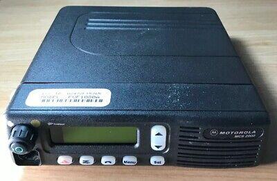 Motorola Mcs 2000 Two-way Mobile Radio M01hx812w M01ugl6pw4bn Mcs2000 Fuf1080a