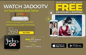 JADOO 4 BEST IPTV SALE Free Delivery & Installation (Don't Miss) Mirrabooka Stirling Area Preview