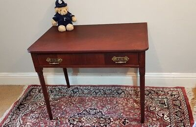 Vintage arts and crafts style hall table or desk