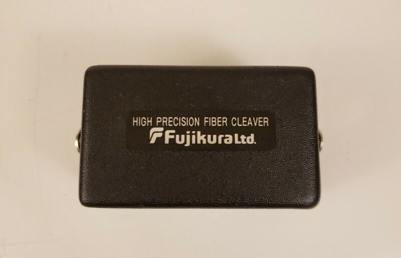 Fujikura CT-100B Precision Fiber-Optic Cleaver **Good Condition**