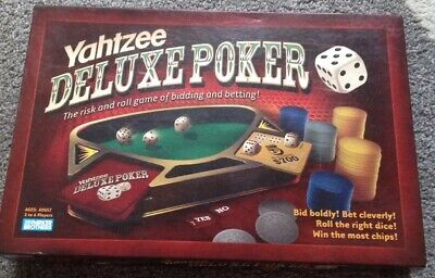 Yahtzee Deluxe Poker - Parker Brothers 2005 - Complete - VGC for sale  Shipping to Ireland