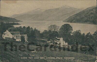 KENMORE Loch Tay Postcard nr Aberfeldy Pitlochry PERTHSHIRE Valentine's Co