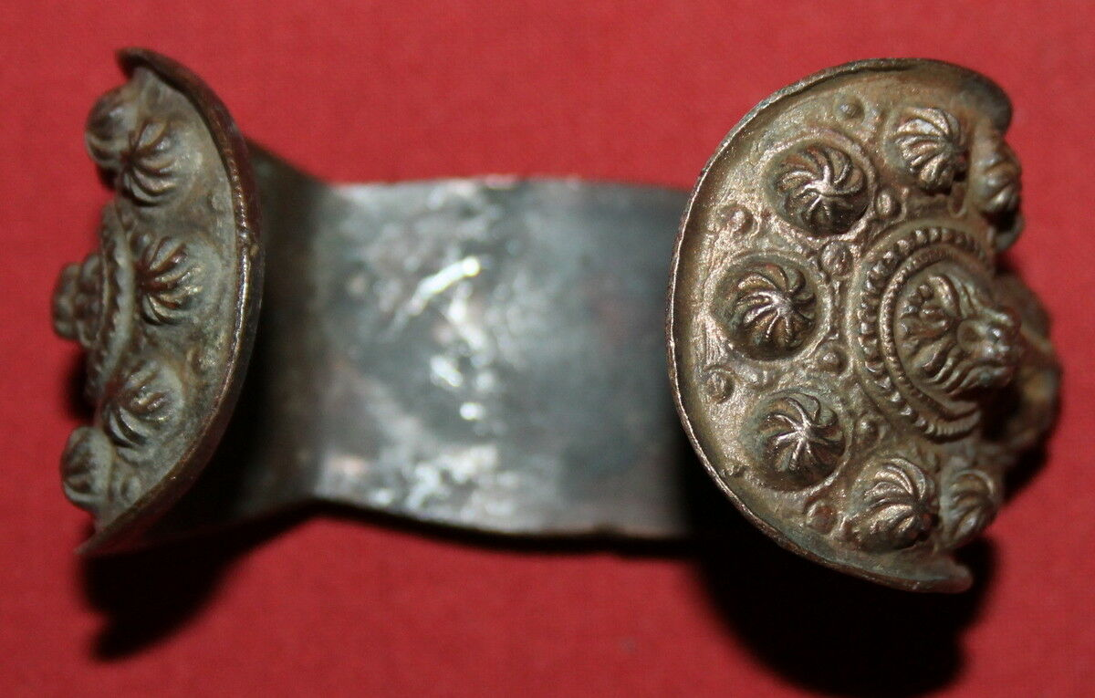 Ancient Greek Orthodox Folk Bronze Fertility Bracelet