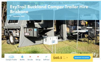 6 Berth Camper Trailer FOR HIRE in Capalaba from $60.50 per night