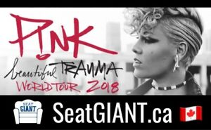 PINK CONCERT TICKETS THIS WEEK FROM $79 CAD!!!