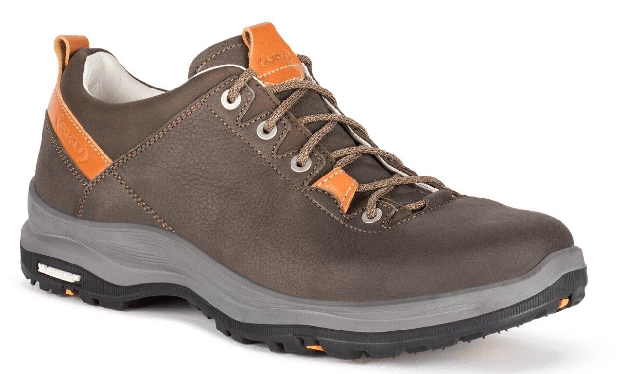 AKU La Val Low Plus Men  Herren Hikingschuh aus Vollleder  chromfrei
