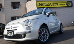 2014 Fiat 500 Lounge!Convertible!Leather seats!ONLY$111Bi-weekly