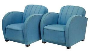 Etonnant Art Deco Club Chairs