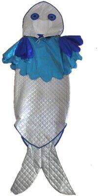 DISFRAZ MUJER  PEZ  ALTA CALIDAD TALLA: 42-44  CARNAVAL,HALLOWEEN.85 (Pez Halloween Costume)