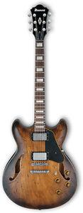 Guitare électrique Ibanez Hollow-Body ASV10A-TCL