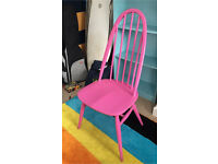 Retro Vintage Ercol Quaker dining chair