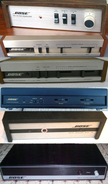 Vintage Bose 800 802 901 Equalizer Repair & Upgrade Service