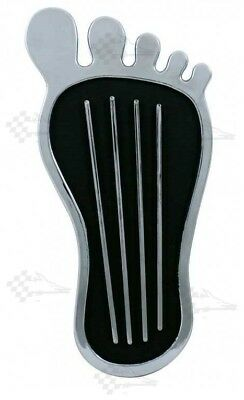 Chrome Big Foot Gas / Accelerator Pedal Pad / Cover - Universal