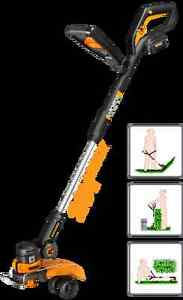 WORX 20V Li-Ion Cordless Grass Trimmer, 12-in