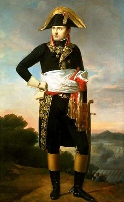 """Handmade Oil Painting repro Portrait Of Napoleon, Standing Full Length 24""""x36"""" for sale  Shipping to Canada"""