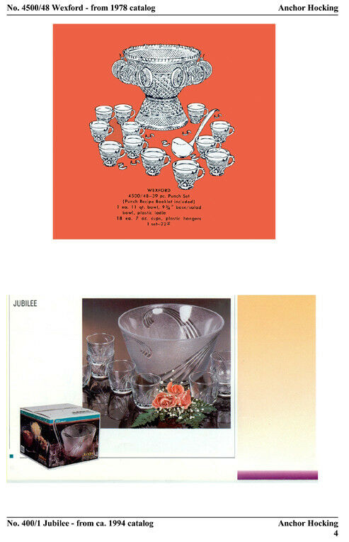 Glass Punch Bowls-ID Guide-Expanded 2007 Edition