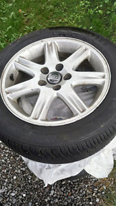 ALL SEASON TIRES ON RIMS FOR VOLVO S60 Peterborough Peterborough Area image 2