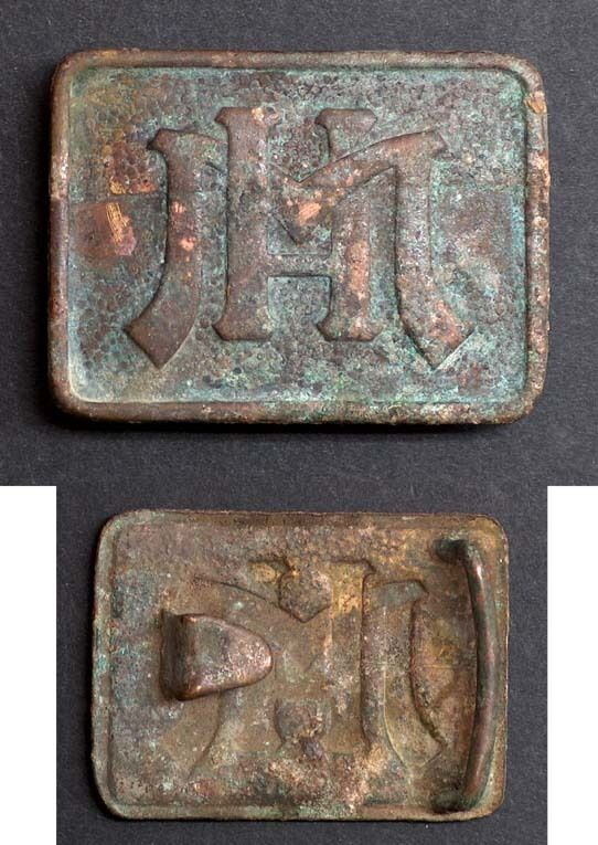 MILITARY BRONZE BELT BUCKLE, BULGARIA, FROM THE 40-ES