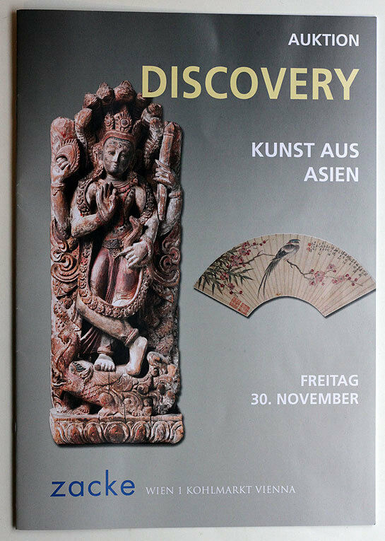 ZACKE Vienna*November 2012*Asian Art*auction catalog