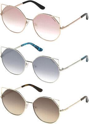 Guess Women's Geometric Cat-Eye Sunglasses w/ Gradient Flash Lens - (Cheap Cat Eye Sunglasses)