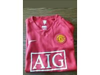 Manchester United top £8 (child Large)