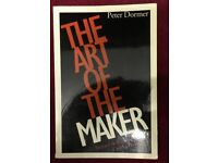 The Art of the Maker by Peter Dormer