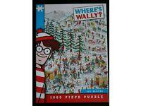 Wheres Wally Ski 1000 piece Jigsaw - Challenging!!