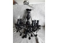 Black 5 - Light Candle-Style Chandelier