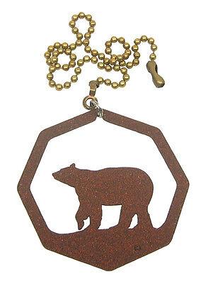 Bear Fan Pull - Ornament