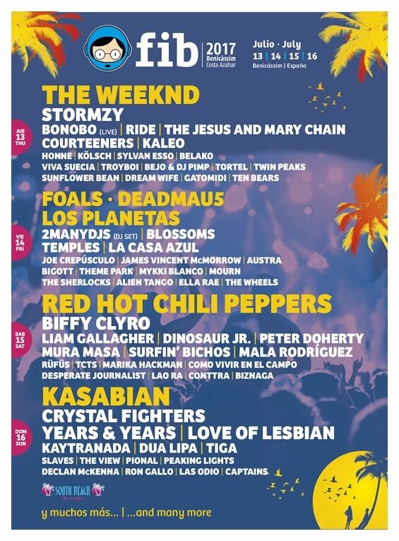 Benicim Festival Tickets 2x With A 4 Star Hotel Stay 13th July 17th