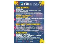BENICASSIM NORMAL CAMPING FULL FESTIVAL TICKET FOR SALE