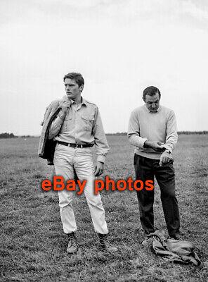 PHOTO - ALAIN DELON & LINO VENTURA N°350-08 = 20x27cm