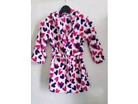New Girls 6/7 years dressing gown