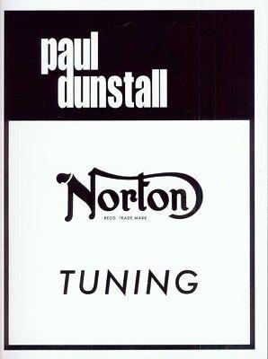 Norton Tuning by Paul Dunstall Commando Atlas Manual
