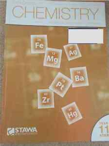 Year 11 STAWA Chemistry Iluka Joondalup Area Preview