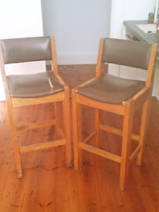 Wooden Bar Stools Available! Geelong West Geelong City Preview