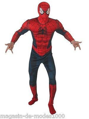 Hochwertiger Lizenz Herrenkostüm Spiderman original MARVEL  Fasching Karneval (Spiderman Original Kostüm)
