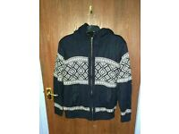 Next knit heavy sweater jacket coat size S or M
